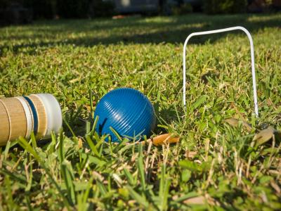 Family Picnic Games - Croquet