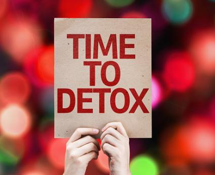 Time To Detox card