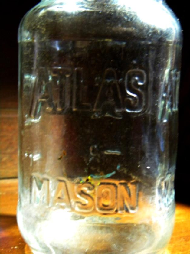 Atlas mason jars for home canning