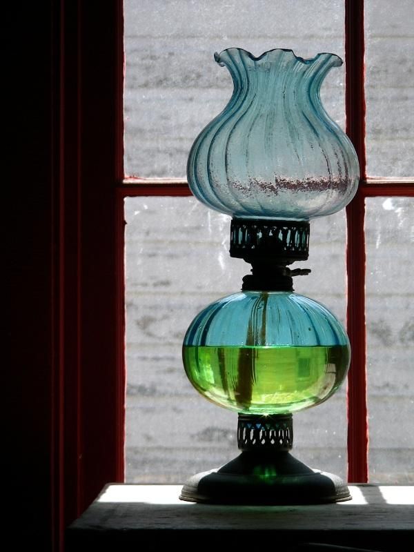 Chimney Lamps Hand Blown Glass Oil Lamp