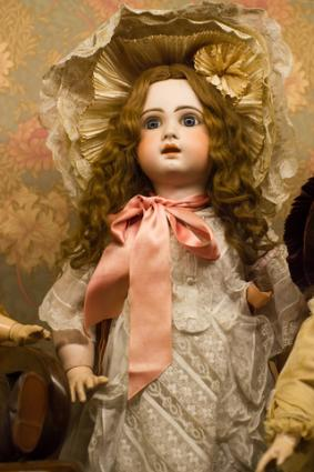 Anitque doll; copyright Blackalex at Dreamstime.com