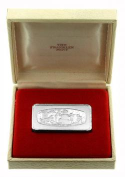 1974 Franklin Mint Silver Ingot