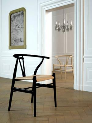 Example of Wishbone chair design