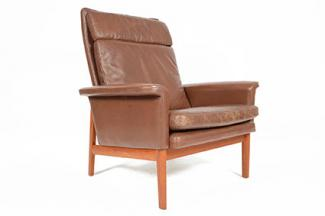 Finn Juhl Jupiter Chair for France and Son