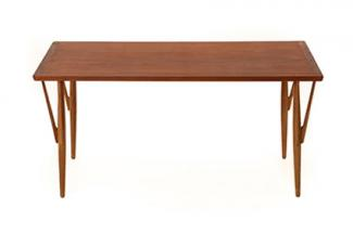 Danish modern Hans Wegner dining table