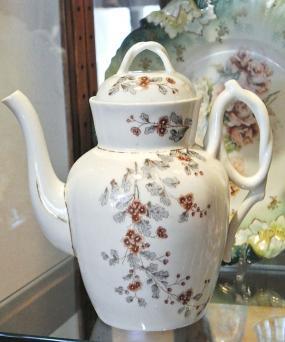 1800s Ironstone Teapot Coffee Pot