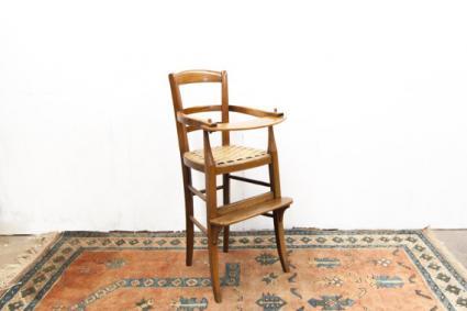 Heirloom Wooden High Chair
