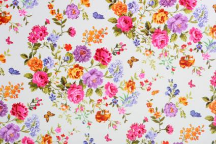 1940s floral pattern