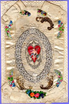Early Victorian Valentine Card