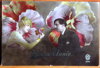 Mid-20th Century Valentine Card