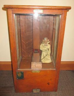 Yellow Kid Antique Gumball Machine c. 1899