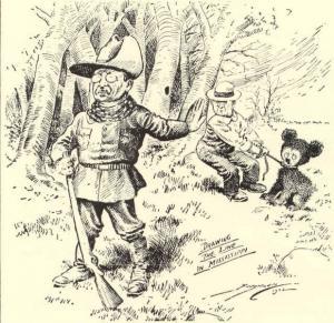 Cartoon by Clifford Kennedy Berryman, published in Washington Post, 1902