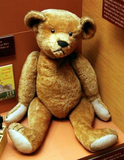 1903 Teddy Bear manufactured by Benjamin Michton, son of the founder of the Ideal Toy Co.
