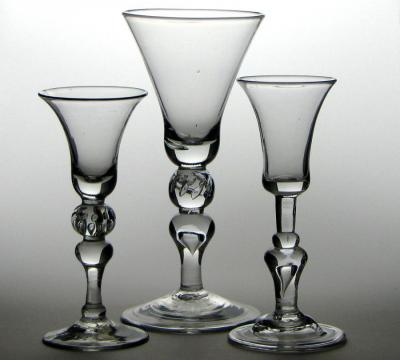 Three Crystal Stemware classes