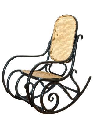 Antique Rocking Chairs LoveToKnow - Antique bentwood rocker rocking chair