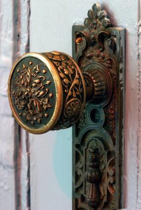 antique doorknob, vintage, Victorian