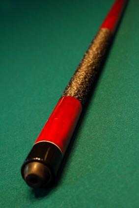 collectible pool cue