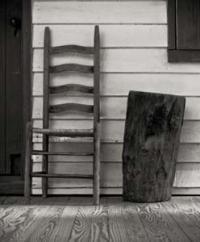 tall ladderback chair