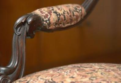 Antique Chair Arm