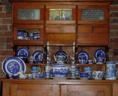 dish cabinets antique 2
