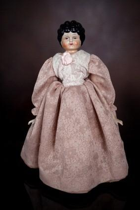 antique china head doll
