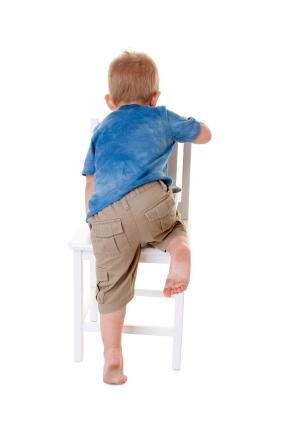 Toddlers may develop a leg injury.