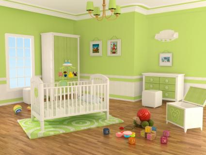 Baby Room  on Modern Baby Nursery Ideas