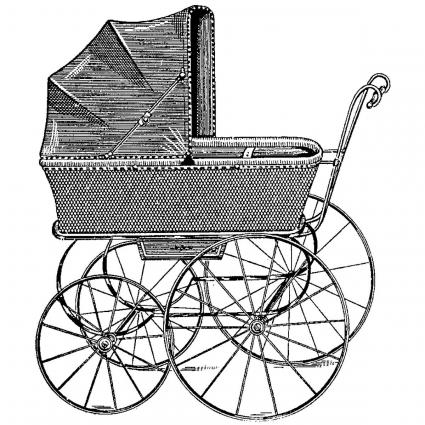 Hampton Art Diffusion Carriage Wood Stamp