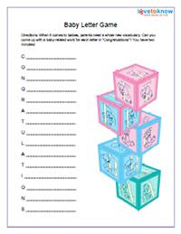 Baby Printables Index | LoveToKnow