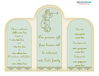Baptism invitation 3