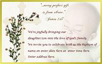 Baptism invitation 6