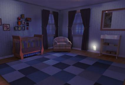 Nursery With Night Light