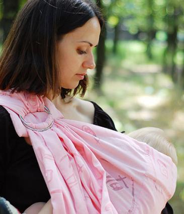 Covered breastfeeding