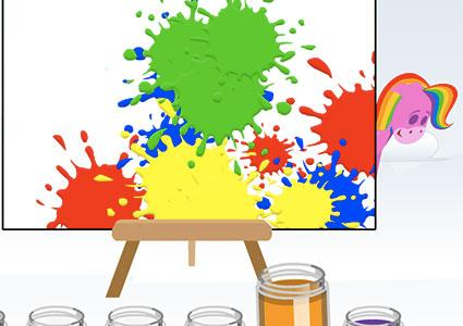 Screenshot of Introduction to Color on Babyfirsttv.com