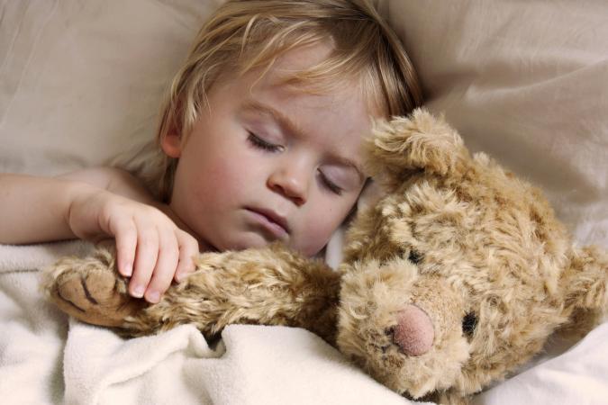 Toddler asleep
