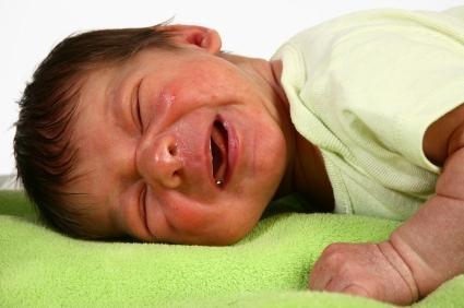 Newborn Dry Red Cheeks