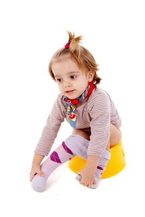 Stress during potty training can lead to potty problems.