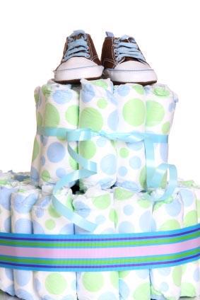 Diaper Cake Poem