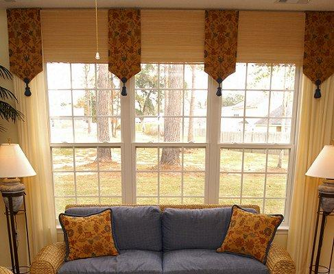 Ideas for interesting window treatments slideshow for Window treatment ideas