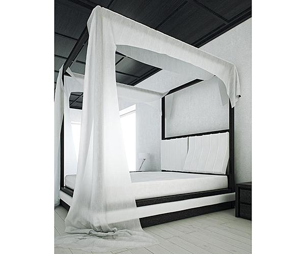 How To Use A Four Poster Bed Canopy To Good Effect: Canopy Bed Curtains Gallery [Slideshow]