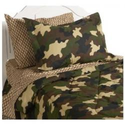 Camo bedding for Camouflage bedroom ideas for kids