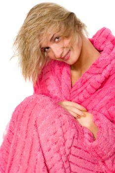 Chenille also used for bathrobes, rugs and valances
