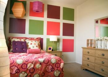 You don't have to be a teenager to love funky bedding, but a theme that ...