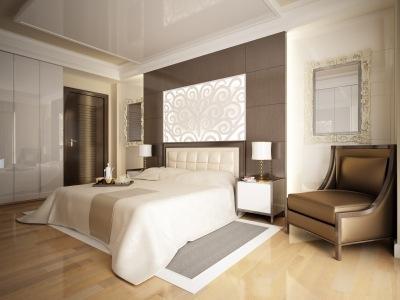 Boutique-style designer bedspread