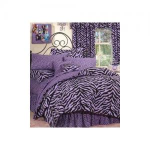 God Teen bedding purple loved