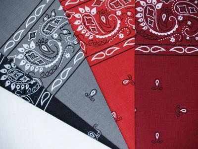 red bandana curtains - Walmart.com
