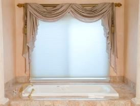 Try new window treatments.