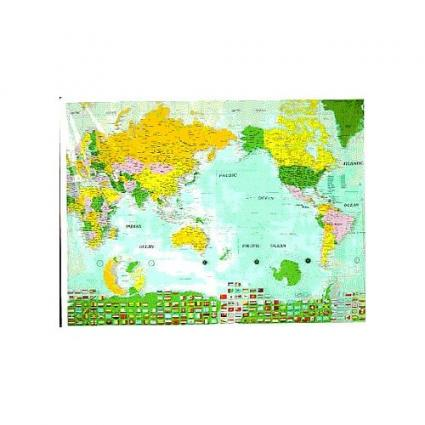 WORLD MAP SHOWER CURTAINS Curtains Blinds