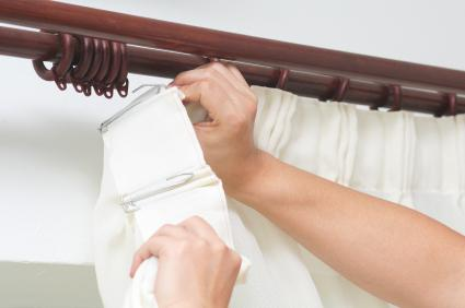How To Hang Curtains, Curtain Valances, Bay Window Curtains