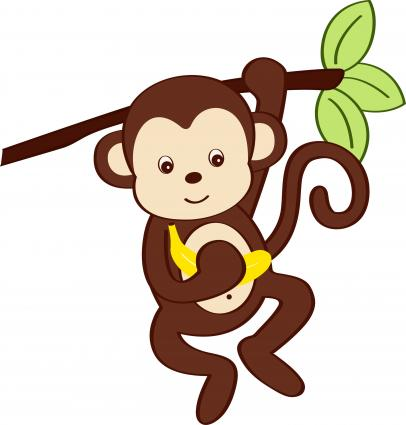 Baby Monkey Cartoon Drawings